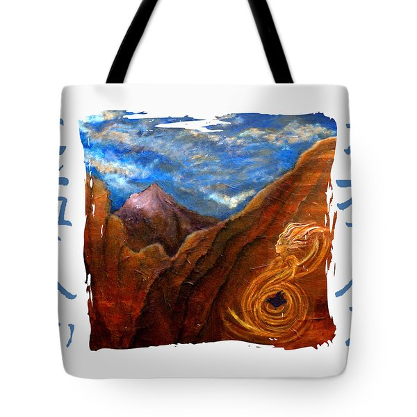 Reiki Healing Art Of The Sedona Vortexes Tote Bag by The Art With A Heart By Charlotte Phillips