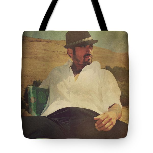 Relax And Stay A While Tote Bag by Laurie Search
