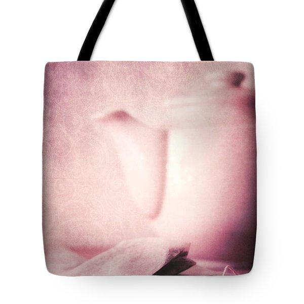 Relaxing Tea Tote Bag by Priska Wettstein