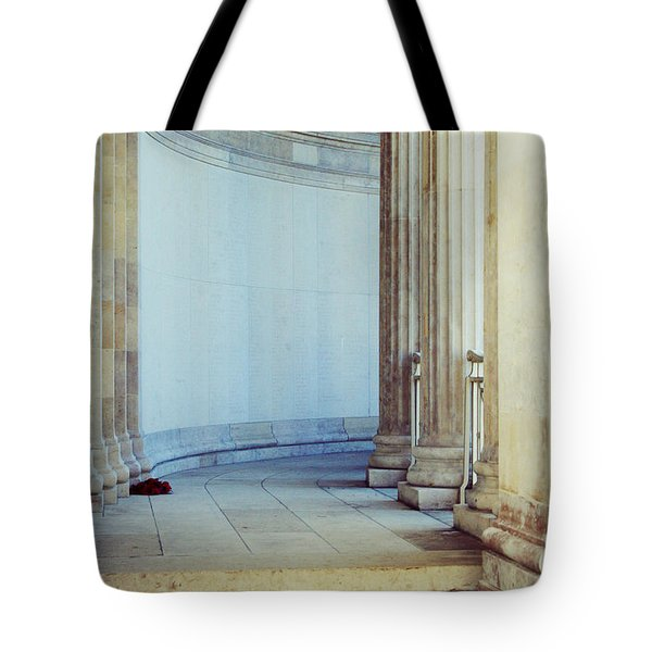 Remembrance Day Tote Bag by Nomad Art And  Design