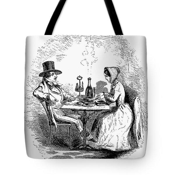 Restaurant, 19th Century Tote Bag by Granger