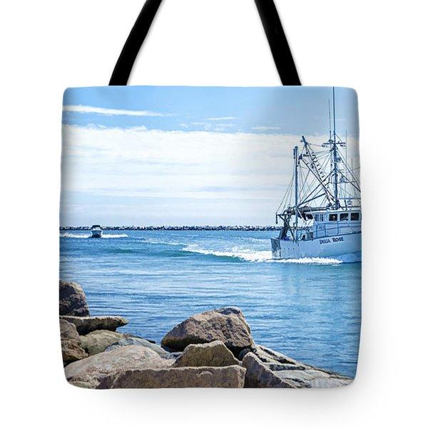 Return Tote Bag by Joan Carroll