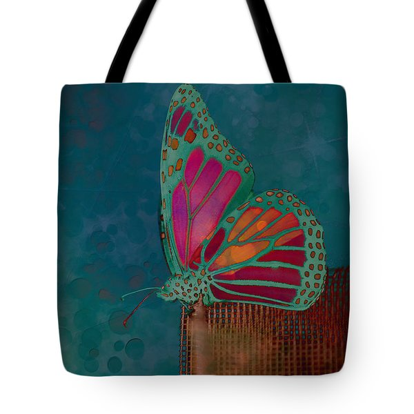Reve de Papillon - s04bt02 Tote Bag by Variance Collections