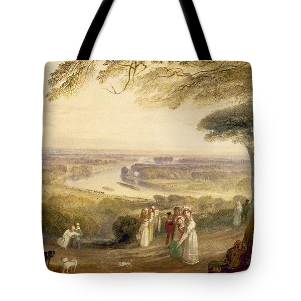 Richmond Terrace Tote Bag by Joseph Mallord William Turner