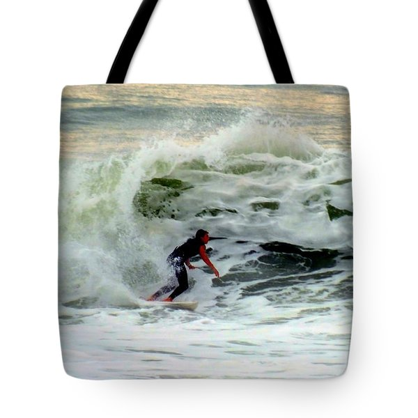 Riding In Beauty Tote Bag by Karen Wiles