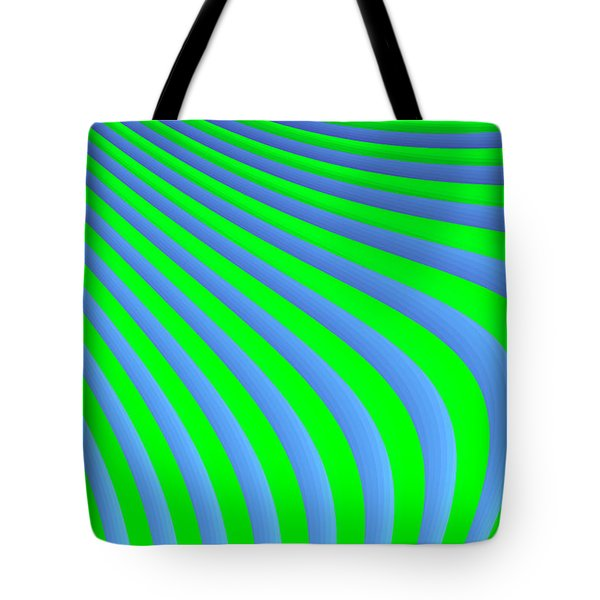Riding The Wave Tote Bag by Carolyn Marshall