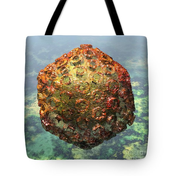 Rift Valley Fever Virus 1 Tote Bag by Russell Kightley