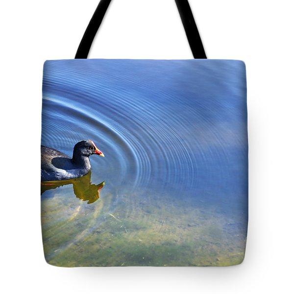 Ripples And Seaweed Tote Bag by Kaye Menner