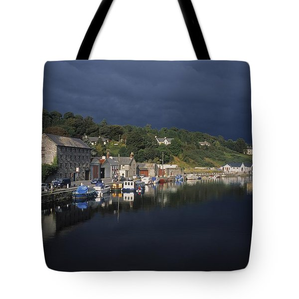 River Barrow, Graiguenamanagh, Co Tote Bag by The Irish Image Collection