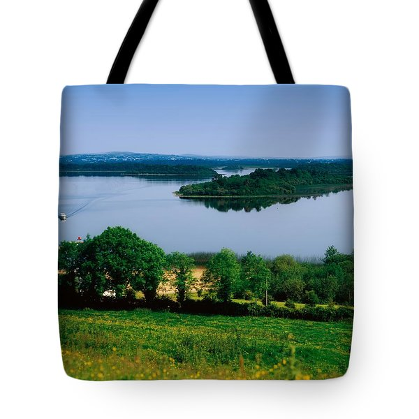 River Cruising, Upper Lough Erne Tote Bag by The Irish Image Collection