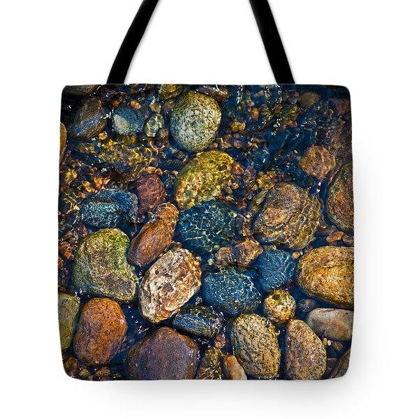 River Rock Tote Bag by Karol Livote
