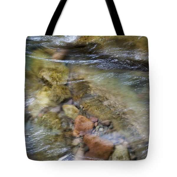 River Rocks Tote Bag by Jenna Szerlag