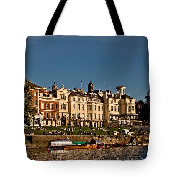 Riverside Tote Bag by Dawn OConnor