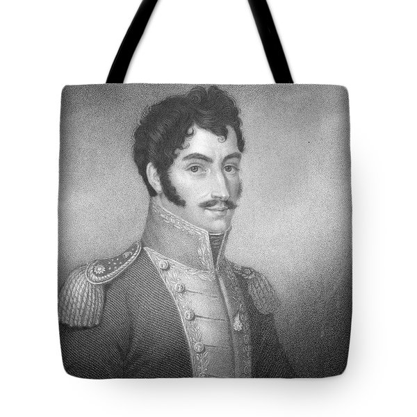 Robert Southey, English Poet Laureate Tote Bag by Photo Researchers
