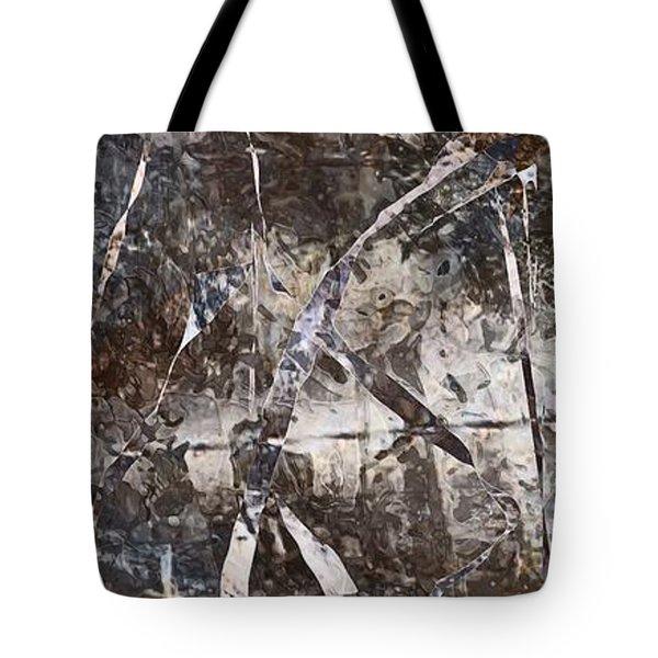 Robot Tote Bag by Marek Lutek
