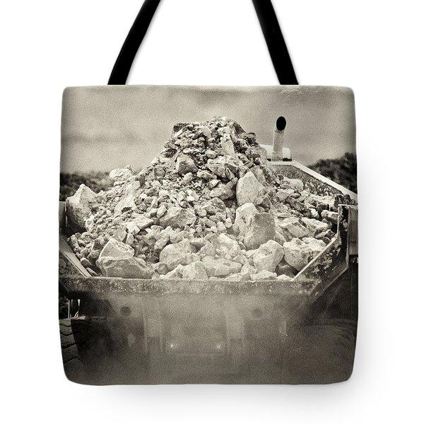 Rock Tote Bag by Patrick M Lynch
