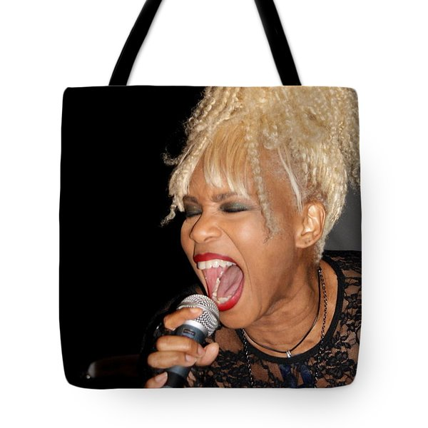 Rock Star Baby Jean Kennedy Of Mother's Finest Tote Bag by Benanne Stiens