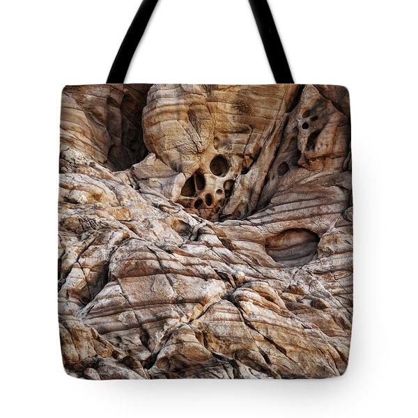 Rock Texture Tote Bag by Kelley King