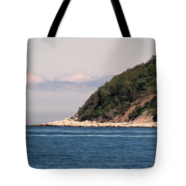 Rocky Hill Tote Bag by Janice Drew