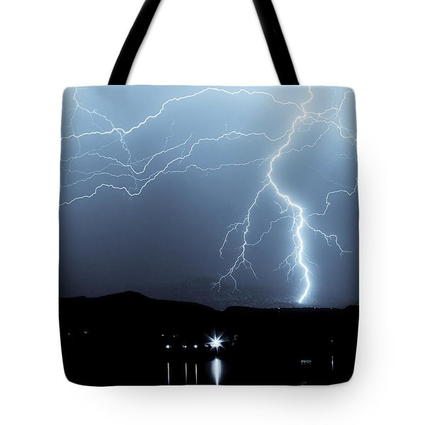 Rocky Mountain Storm Tote Bag by James BO  Insogna