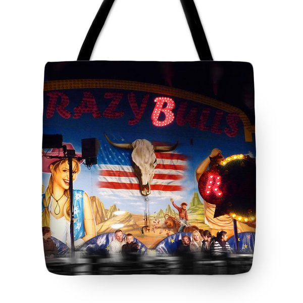 Rodeo Ride Tote Bag by Charles Stuart