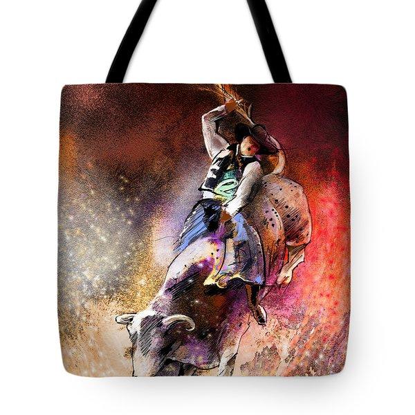 Rodeoscape 01 Tote Bag by Miki De Goodaboom
