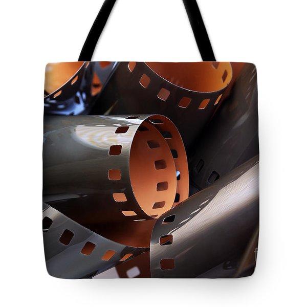 Roll of film Tote Bag by Carlos Caetano