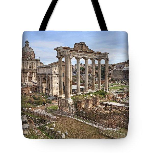 Rome Forum Romanum Tote Bag by Joana Kruse