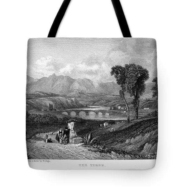 Rome: Milvian Bridge, 1833 Tote Bag by Granger