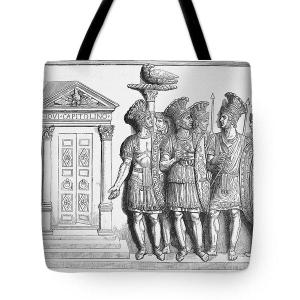 Rome: Praetorian Guards Tote Bag by Granger