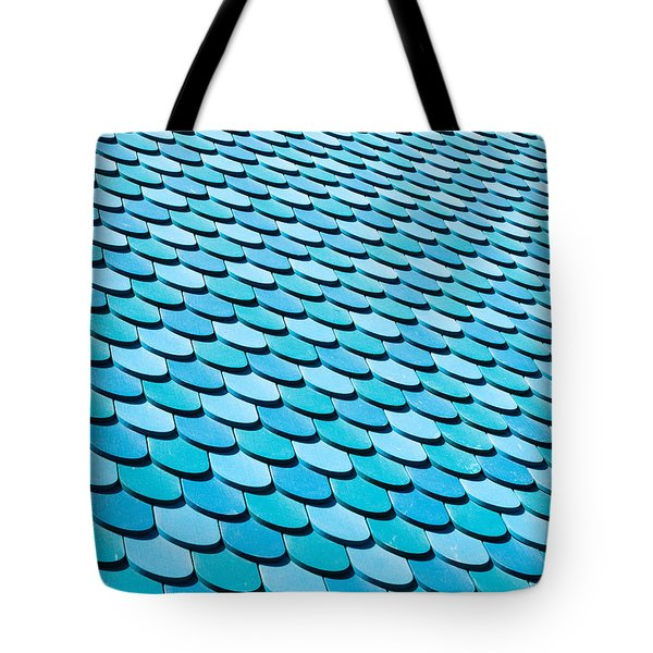 Roof Panels Tote Bag by Tom Gowanlock