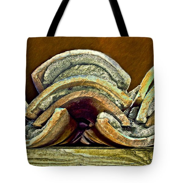 Roof Tiles Tote Bag by Gwyn Newcombe