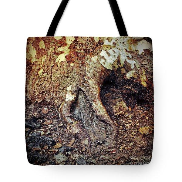Roots Tote Bag by Silvia Ganora