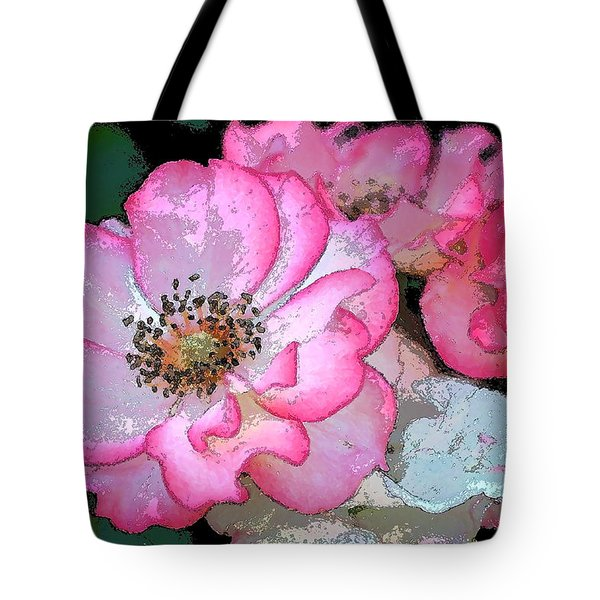 Rose 129 Tote Bag by Pamela Cooper