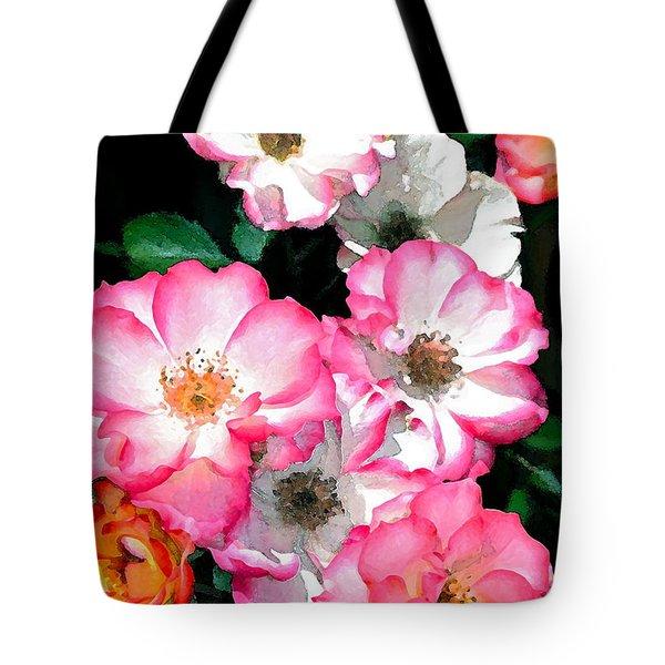 Rose 133 Tote Bag by Pamela Cooper