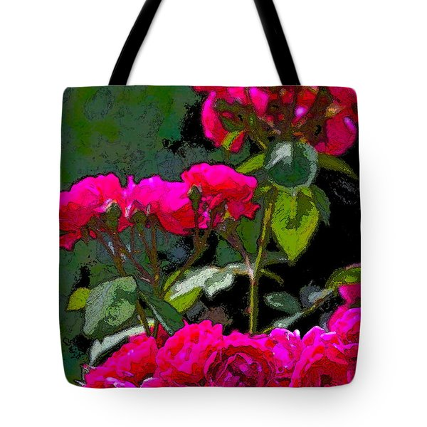 Rose 135 Tote Bag by Pamela Cooper