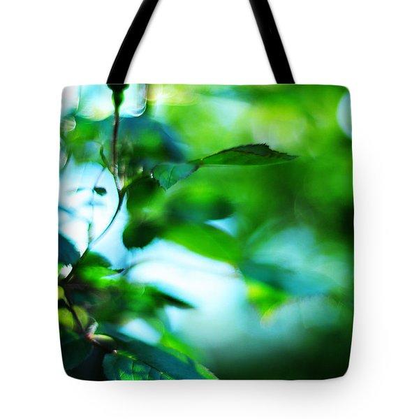 Rosebud Tote Bag by Rebecca Sherman