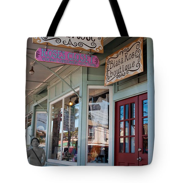 Rose's Closet - Paia Tote Bag by Paulette B Wright