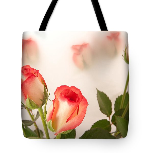 Roses Tote Bag by Tom Gowanlock