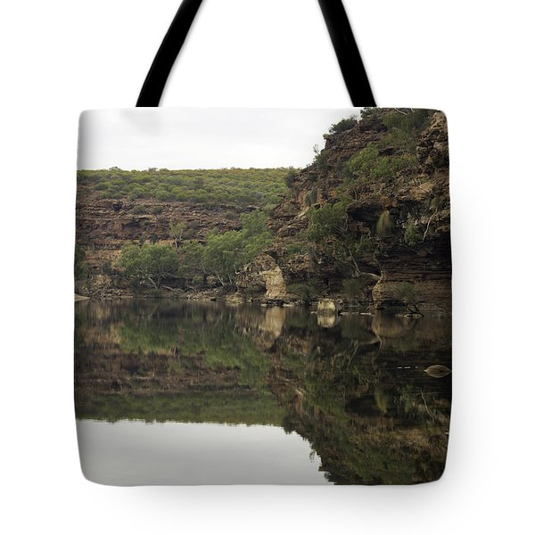 Ross Graham Gorge Tote Bag by Robert Caddy