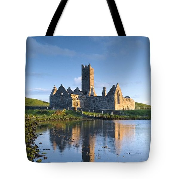 Rosserk Friary, Co Mayo, Ireland 15th Tote Bag by Gareth McCormack