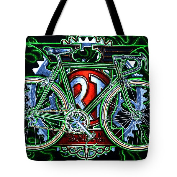 Rotrax Tote Bag by Mark Howard Jones