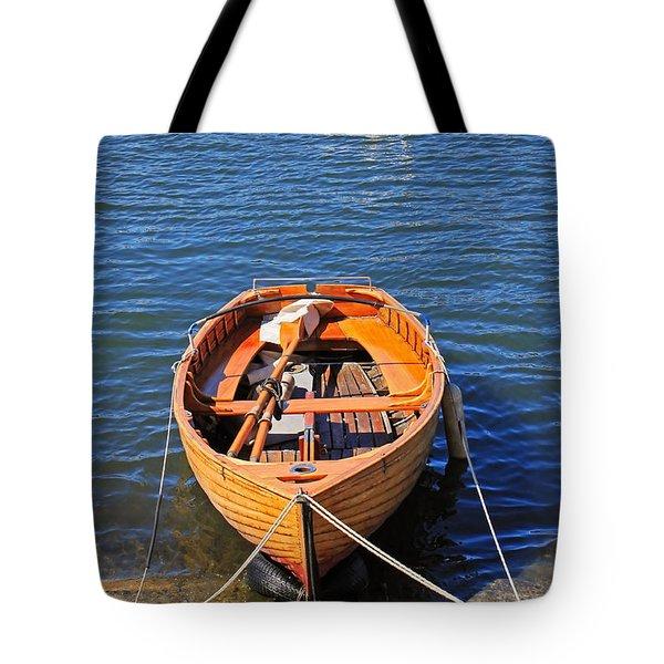 Rowboat Tote Bag by Joana Kruse