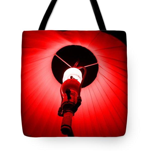 Roxannes Red Light Tote Bag by Shana Rowe Jackson