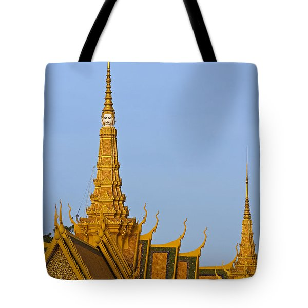 Royal Palace Roof. Tote Bag by David Freuthal