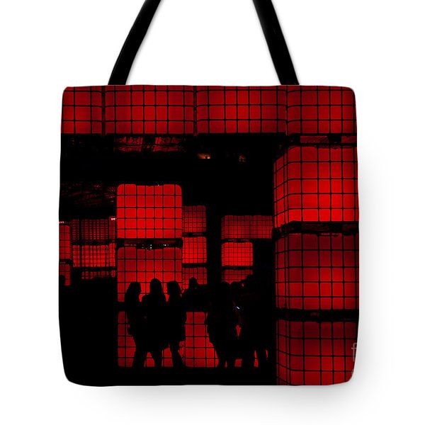 Rubik's Dream Tote Bag by Andrew Paranavitana