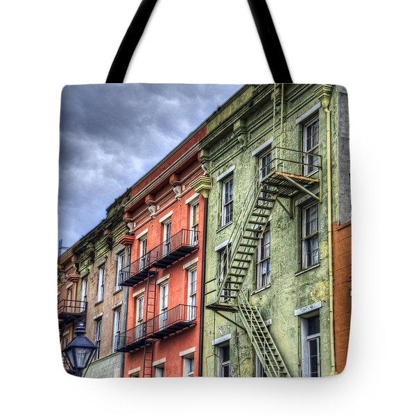 Rue Bienville Tote Bag by Tammy Wetzel