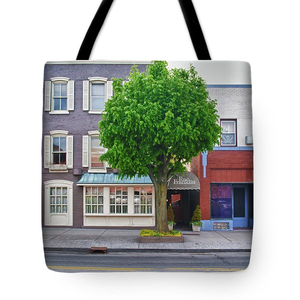 Rue Franklin Tote Bag by Guy Whiteley