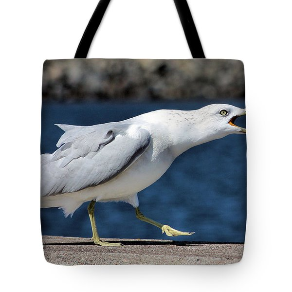 Ruffled Feathers Tote Bag by Kristin Elmquist