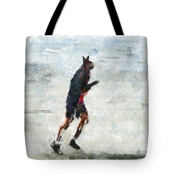 Run Rabbit Run Tote Bag by Steve Taylor